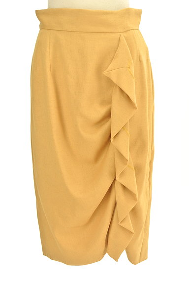 31 Sons de mode(トランテアン ソン ドゥ モード)の古着「フリルラインタイトミモレスカート(スカート)」大画像1へ