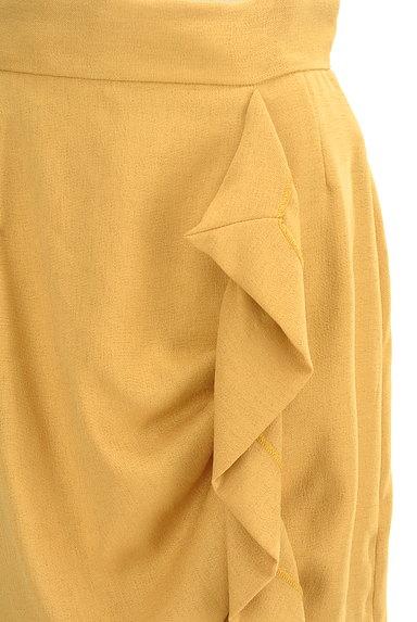 31 Sons de mode(トランテアン ソン ドゥ モード)の古着「フリルラインタイトミモレスカート(スカート)」大画像4へ