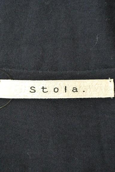 Stola.(ストラ)の古着「ボートネック半袖ロゴTシャツ(Tシャツ)」大画像6へ