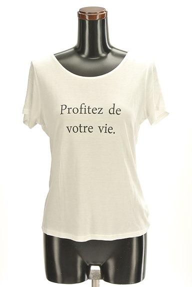 Stola.(ストラ)の古着「シンプルロゴTシャツ(Tシャツ)」大画像1へ
