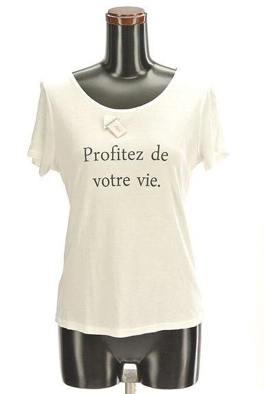 Stola.(ストラ)の古着「シンプルロゴTシャツ(Tシャツ)」大画像4へ