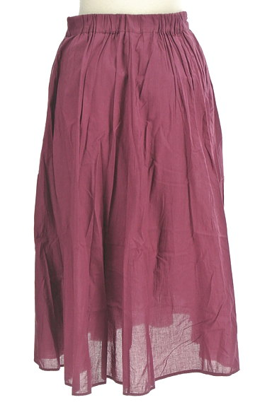 Stola.(ストラ)の古着「ミモレ丈ラップフレアスカート(ロングスカート・マキシスカート)」大画像2へ
