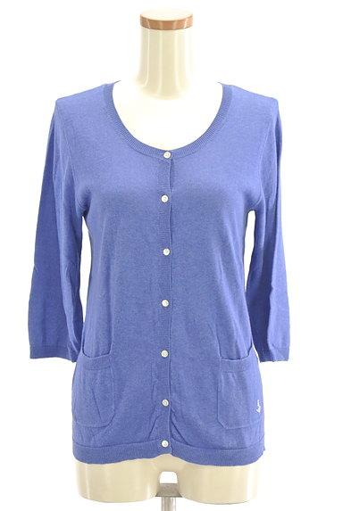 SM2(サマンサモスモス)の古着「マリン刺繍7分袖カーディガン(カーディガン・ボレロ)」大画像1へ
