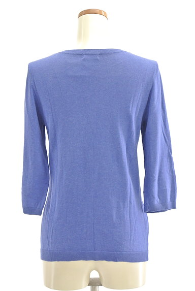 SM2(サマンサモスモス)の古着「マリン刺繍7分袖カーディガン(カーディガン・ボレロ)」大画像2へ