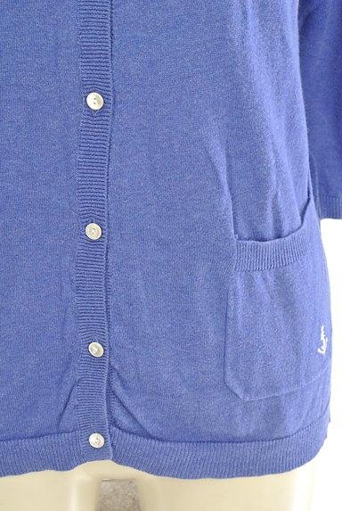 SM2(サマンサモスモス)の古着「マリン刺繍7分袖カーディガン(カーディガン・ボレロ)」大画像5へ