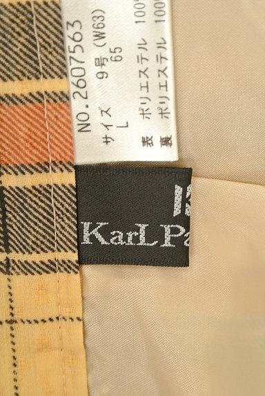 KarL Park Lane(カールパークレーン)の古着「シフォンチェック柄ガウチョパンツ(パンツ)」大画像6へ