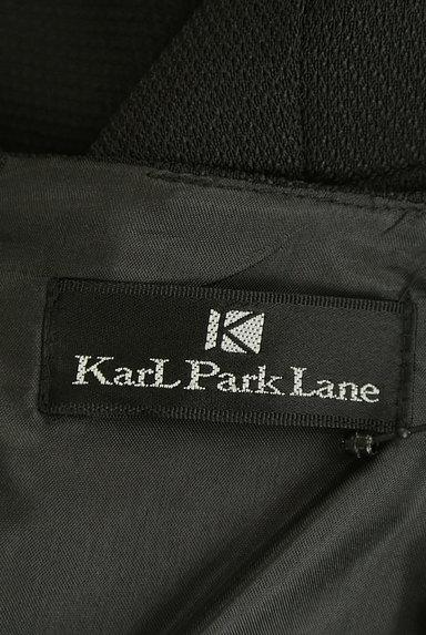 KarL Park Lane(カールパークレーン)の古着「花パール袖シフォンミモレワンピース(ワンピース・チュニック)」大画像6へ