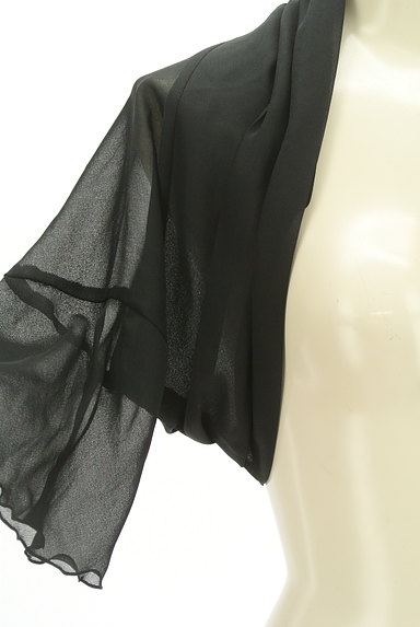 KarL Park Lane(カールパークレーン)の古着「シアー5分ベル袖ボレロ(カーディガン・ボレロ)」大画像4へ