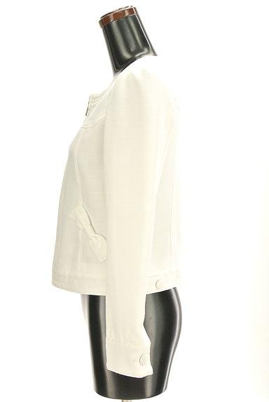 LODISPOTTO(ロディスポット)の古着「リボン付きノーカラージャケット(ジャケット)」大画像3へ