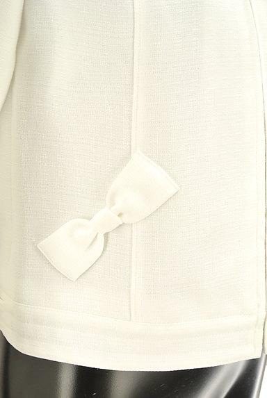 LODISPOTTO(ロディスポット)の古着「リボン付きノーカラージャケット(ジャケット)」大画像5へ