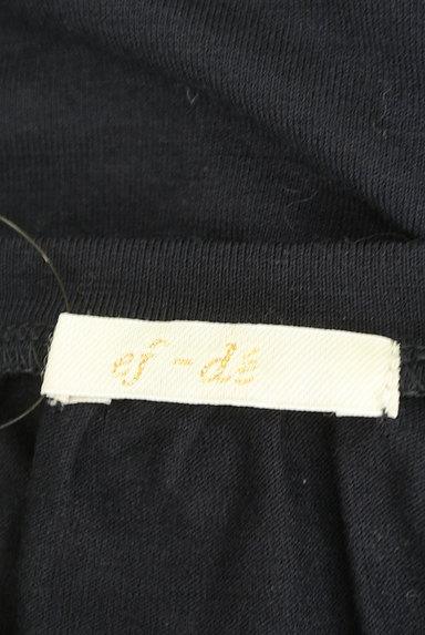 ef-de(エフデ)の古着「ギャザーネックフレアカットソー(カットソー・プルオーバー)」大画像6へ