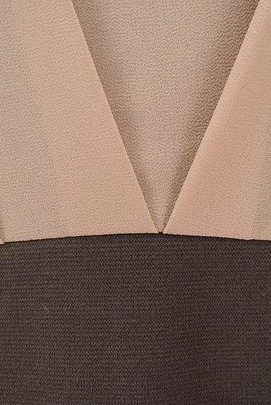 PROPORTION BODY DRESSING(プロポーションボディ ドレッシング)の古着「ドルマン切替タイトワンピース(ワンピース・チュニック)」大画像5へ
