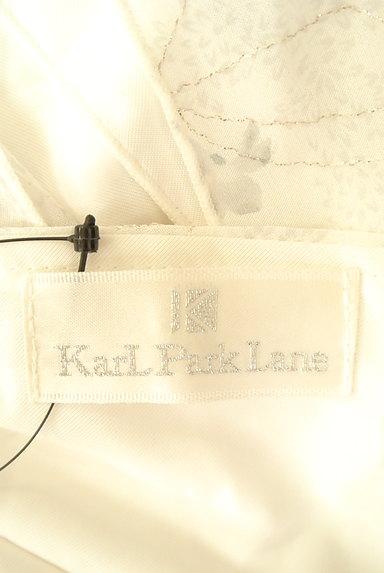 KarL Park Lane(カールパークレーン)の古着「ラメ刺繍ペプラムキャミソール(キャミソール・タンクトップ)」大画像6へ
