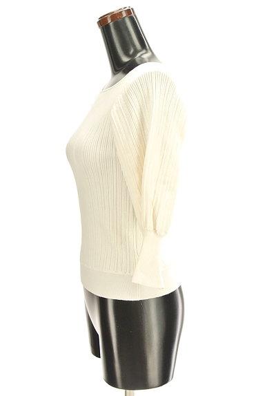 PROPORTION BODY DRESSING(プロポーションボディ ドレッシング)の古着「ボートネック7分袖ニット(ニット)」大画像3へ