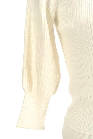 PROPORTION BODY DRESSING(プロポーションボディ ドレッシング)の古着「ボートネック7分袖ニット(ニット)」大画像5へ