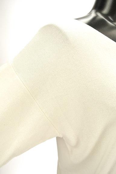 PROPORTION BODY DRESSING(プロポーションボディ ドレッシング)の古着「バック刺繍ネック7分袖ニット(ニット)」大画像5へ