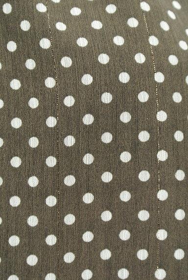 PROPORTION BODY DRESSING(プロポーションボディ ドレッシング)の古着「シースルー袖ドット柄プルオーバー(カットソー・プルオーバー)」大画像5へ