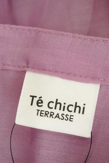 Te chichi(テチチ)の古着「カラーシアーロングシャツ(カジュアルシャツ)」大画像6へ