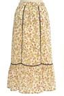 Jocomomola(ホコモモラ)の古着「ロングスカート・マキシスカート」後ろ
