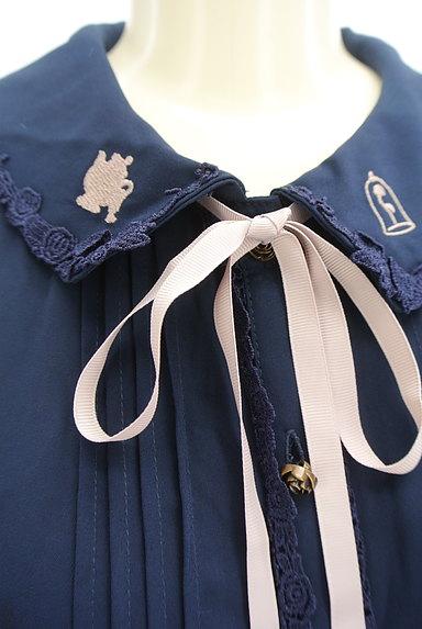 axes femme(アクシーズファム)の古着「美女と野獣刺繍ブラウス(ブラウス)」大画像4へ