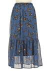 Avan Lily(アヴァンリリィ)の古着「ロングスカート・マキシスカート」後ろ