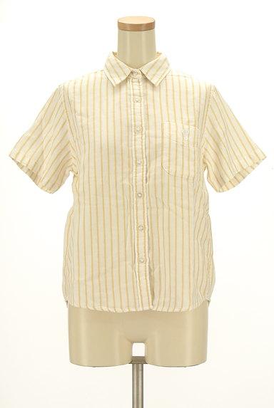 coen(コーエン)の古着「ワンポイントストライプ柄シャツ(カジュアルシャツ)」大画像1へ