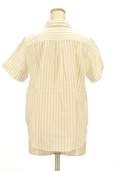 coen(コーエン)の古着「ワンポイントストライプ柄シャツ(カジュアルシャツ)」大画像2へ