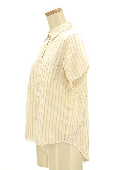 coen(コーエン)の古着「ワンポイントストライプ柄シャツ(カジュアルシャツ)」大画像3へ