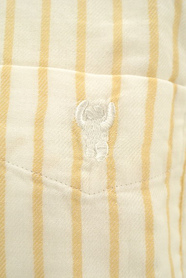 coen(コーエン)の古着「ワンポイントストライプ柄シャツ(カジュアルシャツ)」大画像4へ