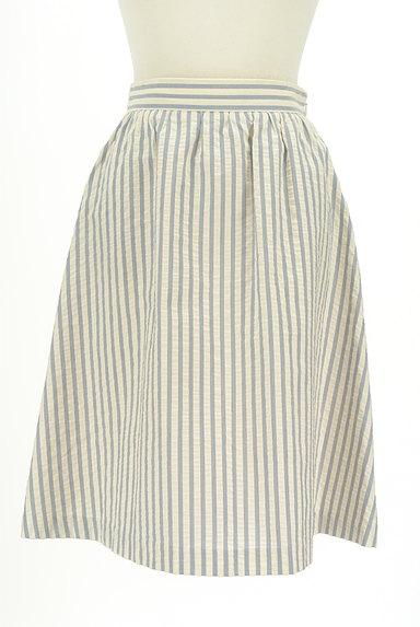 Jewel Changes(ジュエルチェンジズ)の古着「ストライプ柄膝下丈フレアスカート(スカート)」大画像1へ