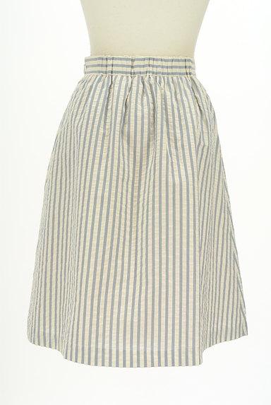Jewel Changes(ジュエルチェンジズ)の古着「ストライプ柄膝下丈フレアスカート(スカート)」大画像2へ