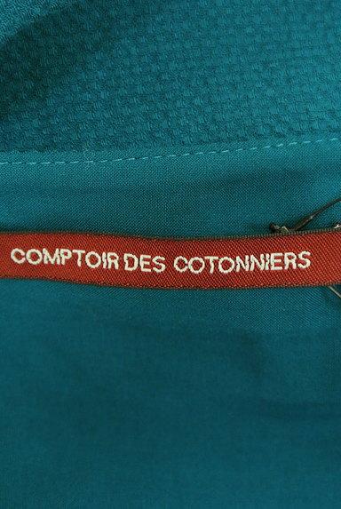 Comptoir des Cotonniers(コントワーデコトニエ)の古着「膝下丈ノースリーブワンピース(ワンピース・チュニック)」大画像6へ