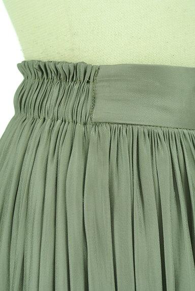 NATURAL BEAUTY(ナチュラルビューティ)の古着「シワ加工サテンマキシスカート(ロングスカート・マキシスカート)」大画像4へ
