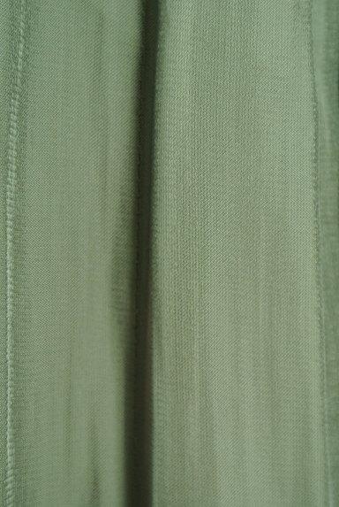 NATURAL BEAUTY(ナチュラルビューティ)の古着「シワ加工サテンマキシスカート(ロングスカート・マキシスカート)」大画像5へ