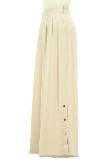 MERCURYDUO(マーキュリーデュオ)の古着「裾ボタンハイウエストワイドパンツ(パンツ)」大画像3へ