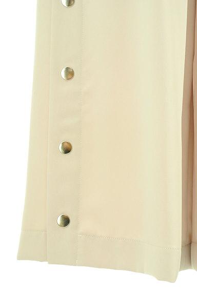 MERCURYDUO(マーキュリーデュオ)の古着「裾ボタンハイウエストワイドパンツ(パンツ)」大画像5へ