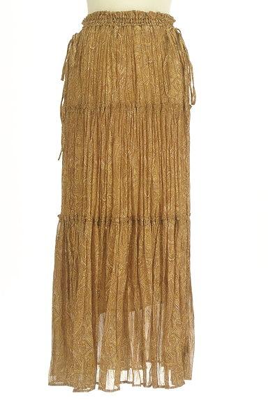FRAY I.D(フレイアイディー)の古着「ペイズリー柄ロングティアードスカート(ロングスカート・マキシスカート)」大画像1へ