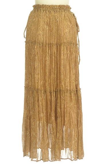 FRAY I.D(フレイアイディー)の古着「ペイズリー柄ロングティアードスカート(ロングスカート・マキシスカート)」大画像2へ