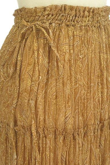 FRAY I.D(フレイアイディー)の古着「ペイズリー柄ロングティアードスカート(ロングスカート・マキシスカート)」大画像4へ