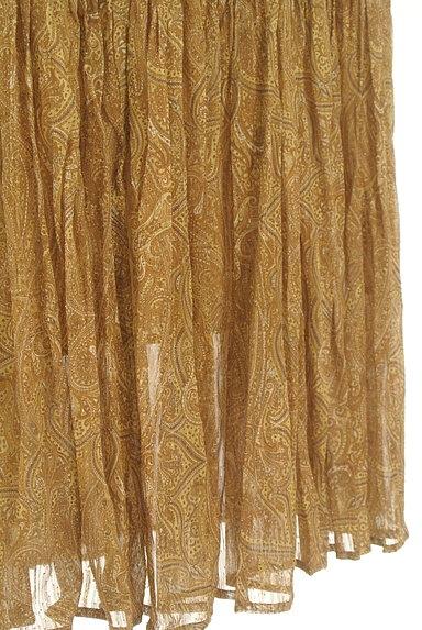 FRAY I.D(フレイアイディー)の古着「ペイズリー柄ロングティアードスカート(ロングスカート・マキシスカート)」大画像5へ