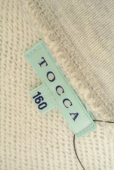 TOCCA(トッカ)の古着「刺繍&ラメステッチジップパーカー(スウェット・パーカー)」大画像6へ