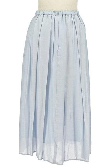 JUSGLITTY(ジャスグリッティー)の古着「パステルギャザーフレアロングスカート(ロングスカート・マキシスカート)」大画像2へ
