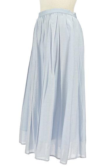 JUSGLITTY(ジャスグリッティー)の古着「パステルギャザーフレアロングスカート(ロングスカート・マキシスカート)」大画像3へ