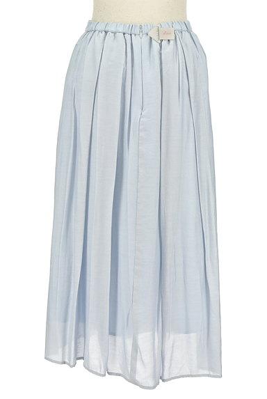 JUSGLITTY(ジャスグリッティー)の古着「パステルギャザーフレアロングスカート(ロングスカート・マキシスカート)」大画像4へ