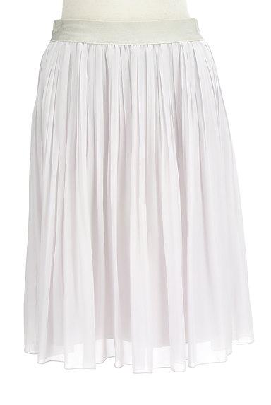 COUP DE CHANCE(クードシャンス)の古着「シフォンプリーツ膝丈スカート(スカート)」大画像1へ