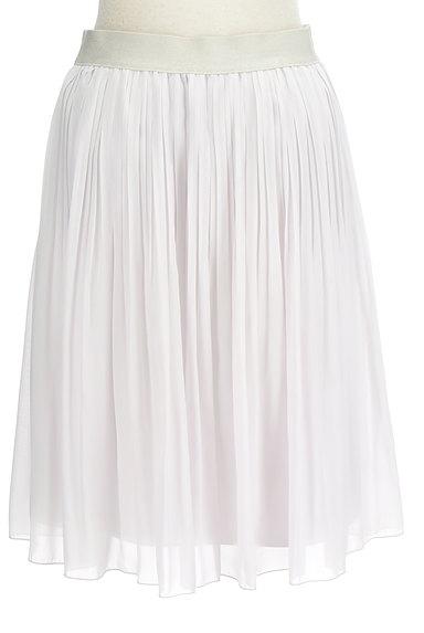 COUP DE CHANCE(クードシャンス)の古着「シフォンプリーツ膝丈スカート(スカート)」大画像2へ