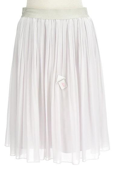 COUP DE CHANCE(クードシャンス)の古着「シフォンプリーツ膝丈スカート(スカート)」大画像4へ