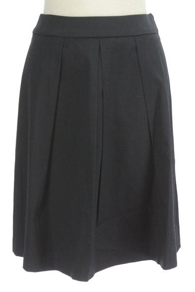 ef-de(エフデ)の古着「タックプリーツ膝丈スカート(スカート)」大画像1へ