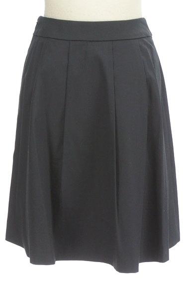 ef-de(エフデ)の古着「タックプリーツ膝丈スカート(スカート)」大画像2へ