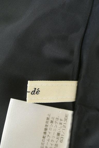 ef-de(エフデ)の古着「タックプリーツ膝丈スカート(スカート)」大画像6へ